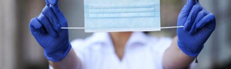 О правильном ношение медицинской маски