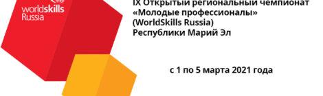 IX Открытый региональный чемпионат «Молодые профессионалы» (WorldSkills Russia) Республики Марий Эл