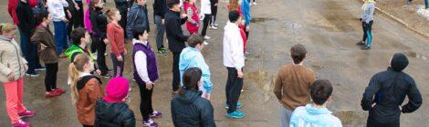 Школа волонтеров площадки всероссийского проекта «Беги за мной»