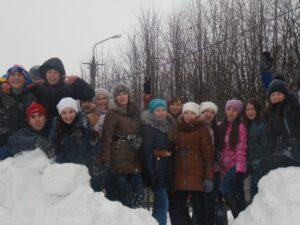 Снежная крепость