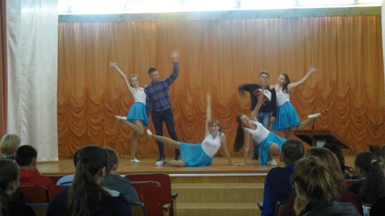 Танцевальная группа Warriors of liqht