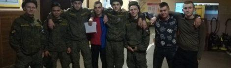 Вчерашний солдат - сегодняшний студент